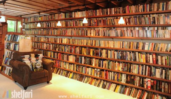 Neil Gaiman's Personal Library.
